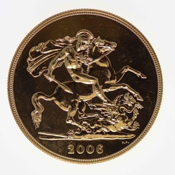 grossbritannien - Großbritannien Elisabeth II. 5 Pounds 2006