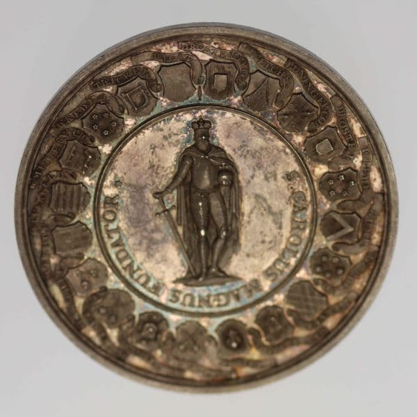 altdeutschland-deutsche-silbermuenzen - Münster Bistum Silbermedaille Sedisvakanz 1801