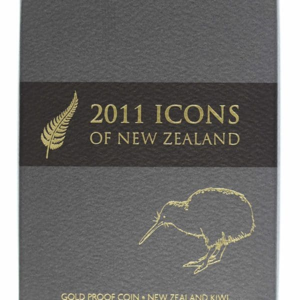 neuseeland - Neuseeland Elisabeth II. 10 Dollars 2011 1/4 OZ Kiwi