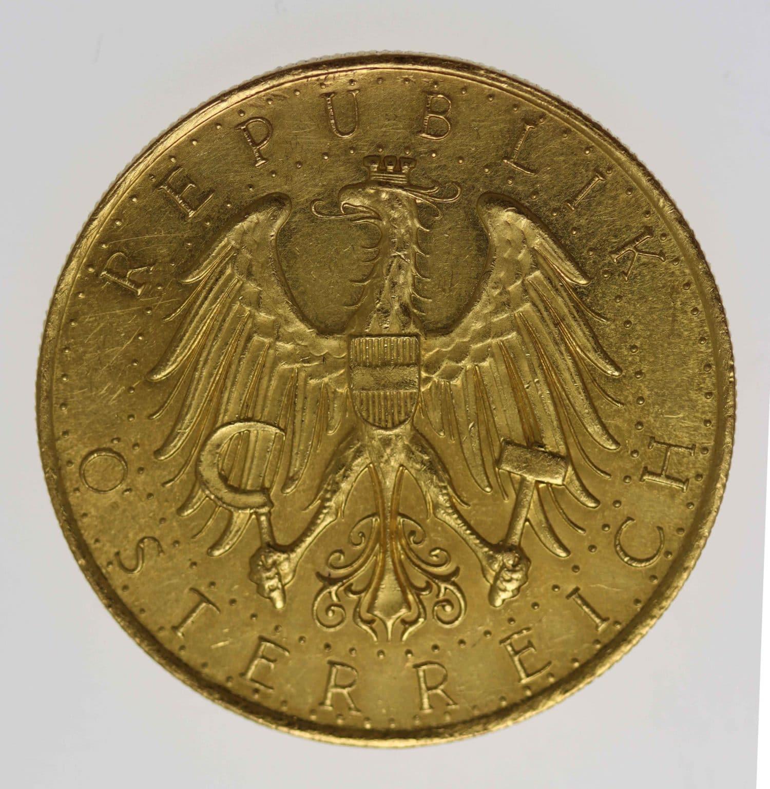 oesterreich - Österreich Republik 100 Schilling 1934