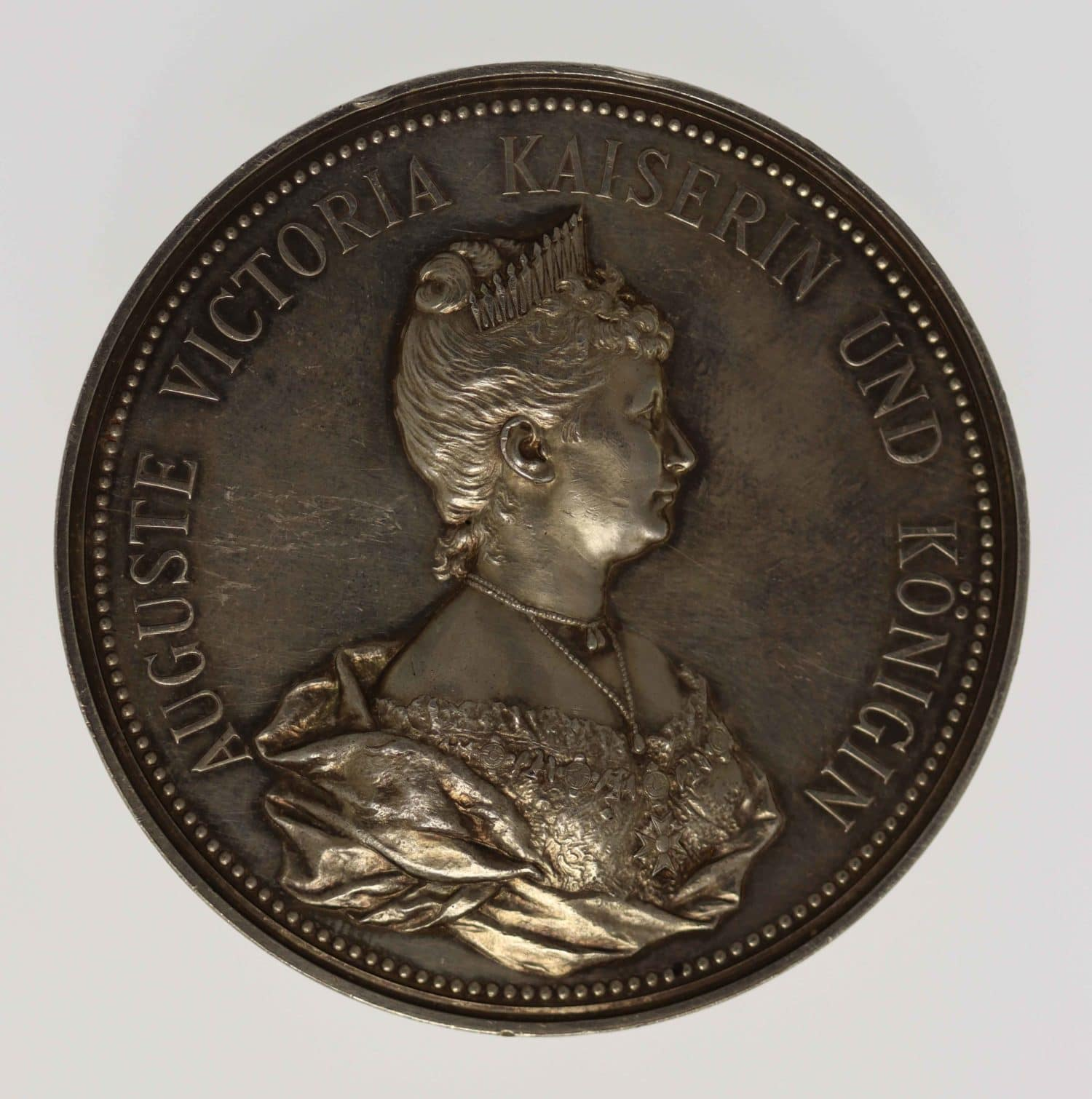 altdeutschland-deutsche-silbermuenzen - Brandenburg Preussen Auguste Victoria Silbermedaille 1901