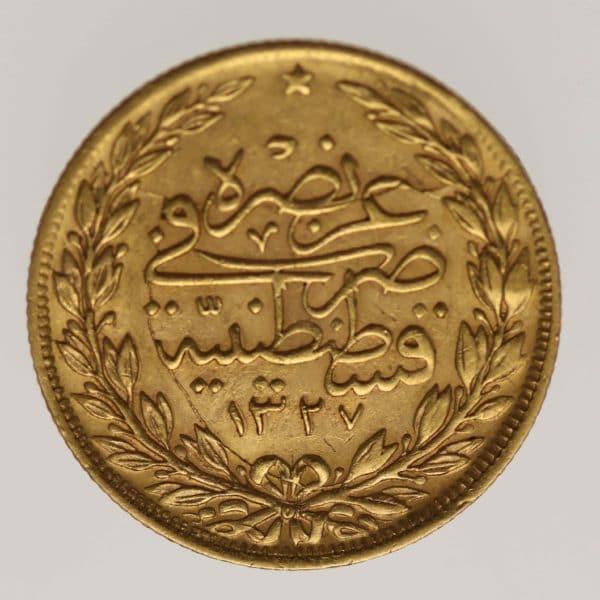 tuerkei - Türkei Muhammad V. 100 Kurush 1914