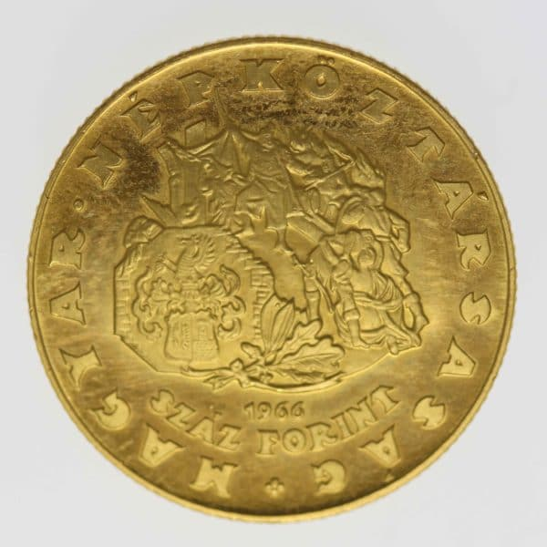 ungarn - Ungarn 100 Forint 1966
