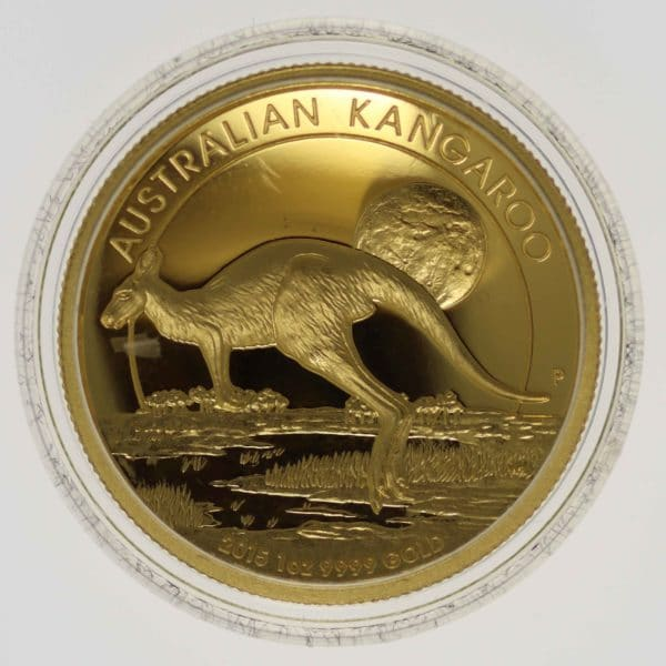 australien - Australien Elisabeth II. 100 Dollars 2015 Kangaroo High Relief