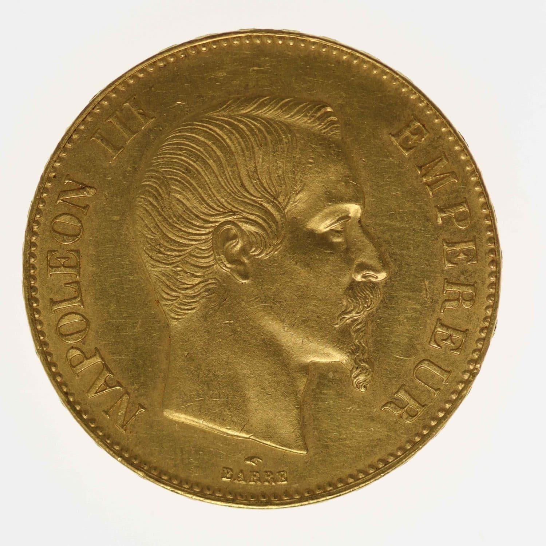 frankreich - Frankreich Napoleon III. 100 Francs 1858 A
