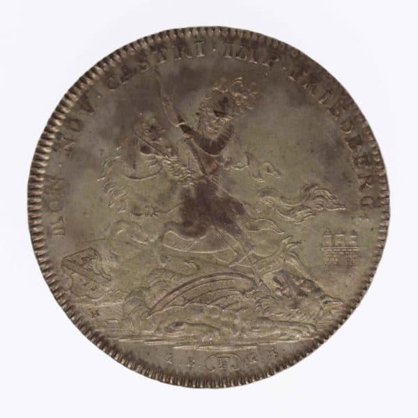 altdeutschland-deutsche-silbermuenzen - Friedberg Reichsburg Johann Maria Rudolph Taler 1804