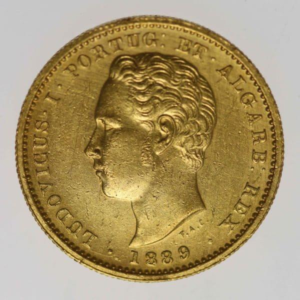 portugal - Portugal Ludwig I. 5000 Reis 1889