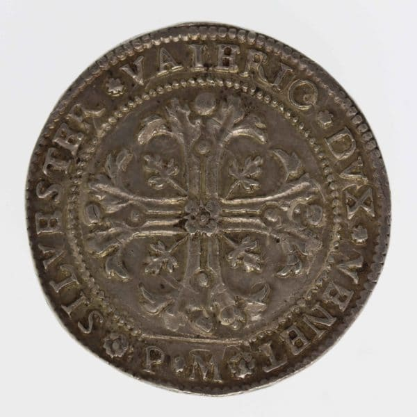 italien-silbermuenzen-uebriges-europa - Italien Venedig Silvestro Valier Scudo della croce
