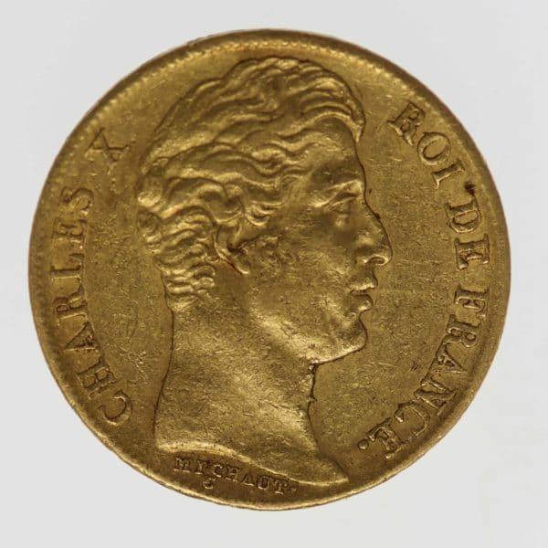 frankreich - Frankreich Charles X. 20 Francs 1825 A