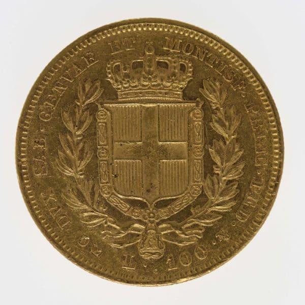 italien - Italien Sardinien Karl Albert 100 Lire 1835