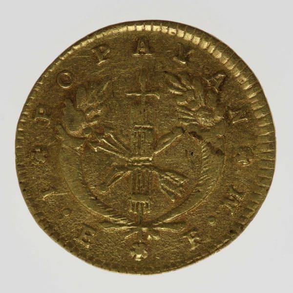 kolumbien - Kolumbien Escudo 1825