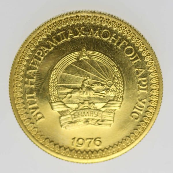 mongolei - Mongolei 750 Tugrik 1976