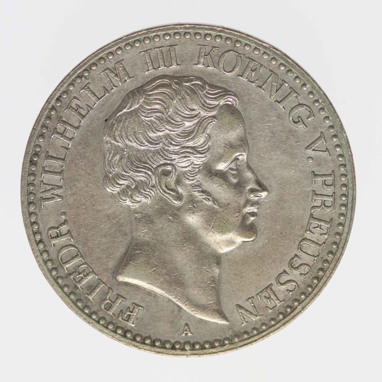 altdeutschland-deutsche-silbermuenzen - Preussen Friedrich Wilhelm IV. Taler 1830