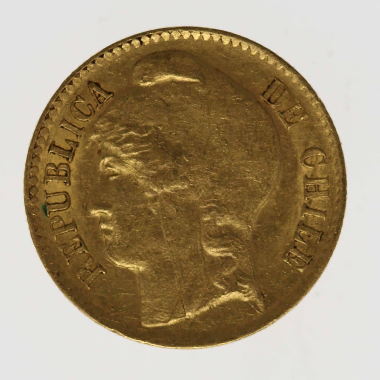 chile - Chile 5 Pesos 1895