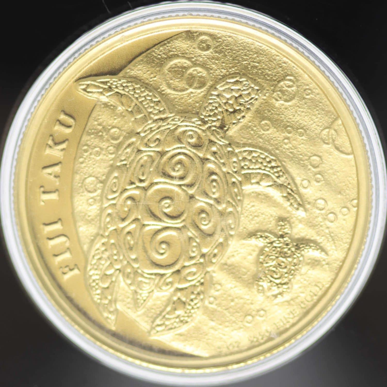 fidschi - Fiji 200 Dollars 2013 Hawksbill Turtle