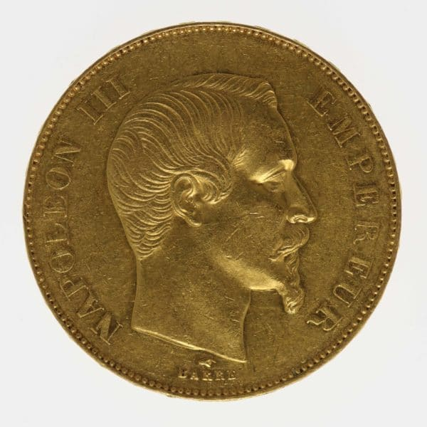 frankreich - Frankreich Napoleon III. 50 Francs 1855 A