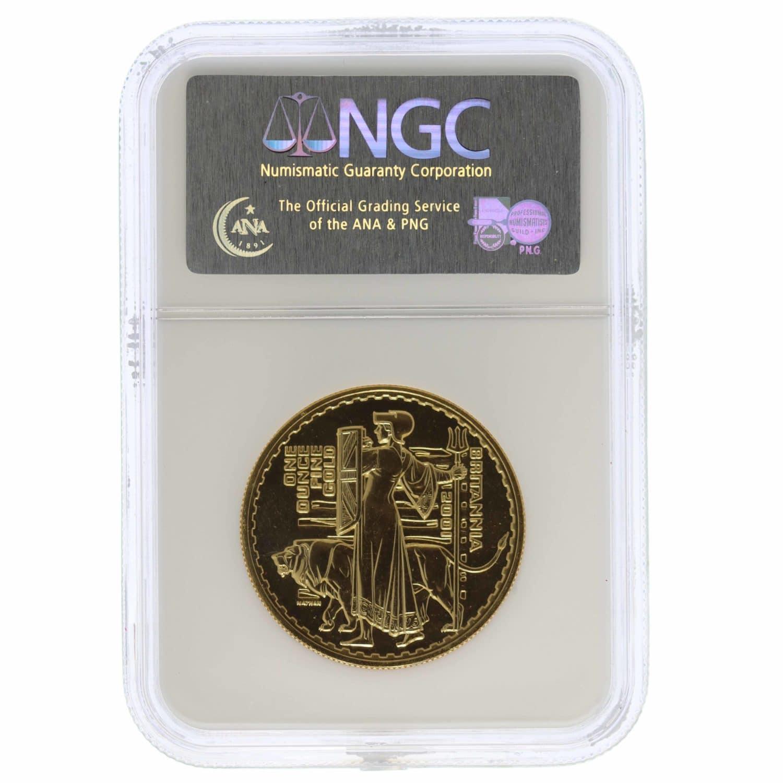 grossbritannien - Großbritannien Elisabeth II. 100 Pounds 2001 Britannia
