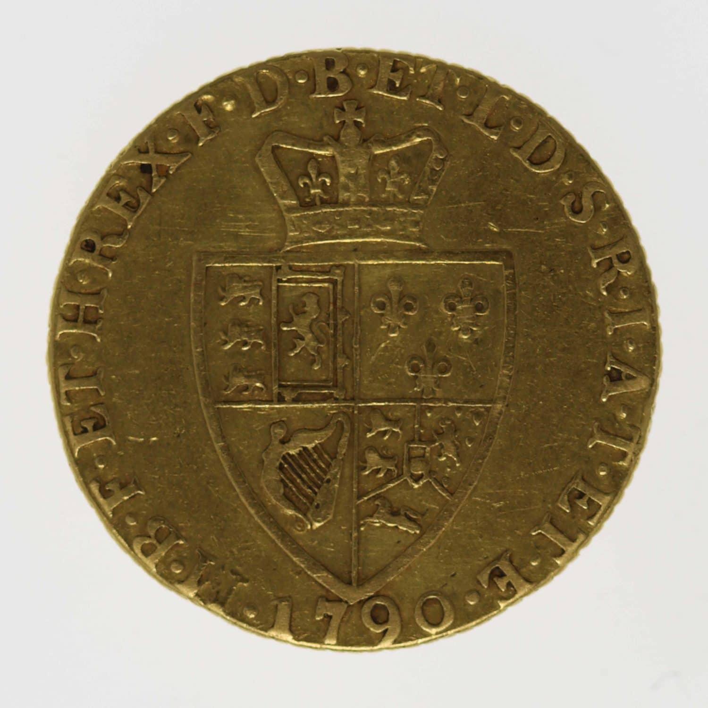 grossbritannien - Großbritannien Georg III. Guinea 1790