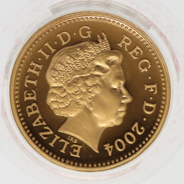 grossbritannien - Großbritannien Elisabeth II. One Pound 2004