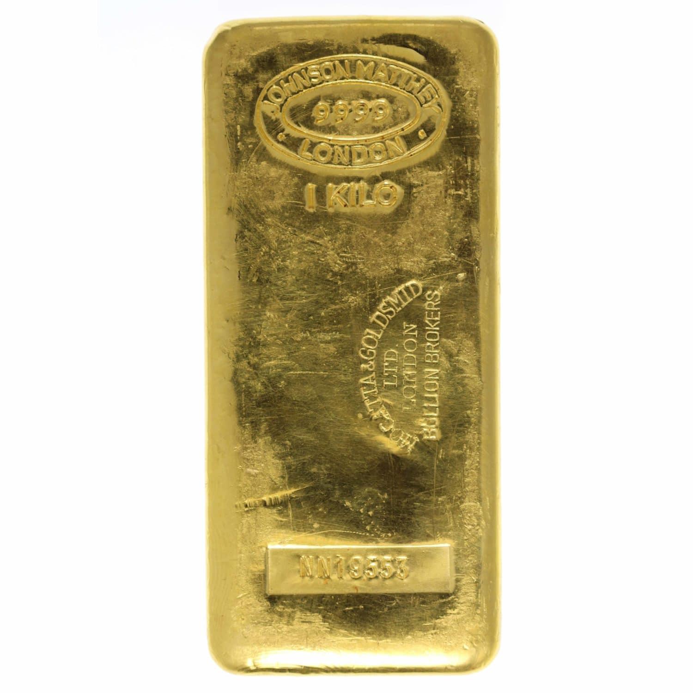 goldbarren - Goldbarren 1000 Gramm Johnson Matthey