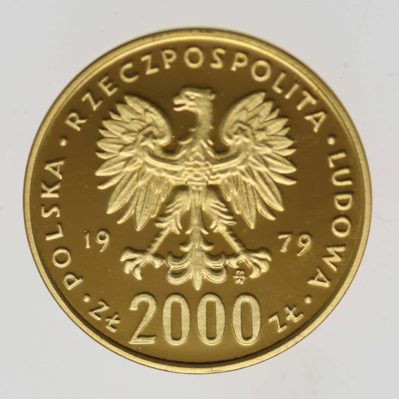 polen - Polen 2000 Zloty 1979