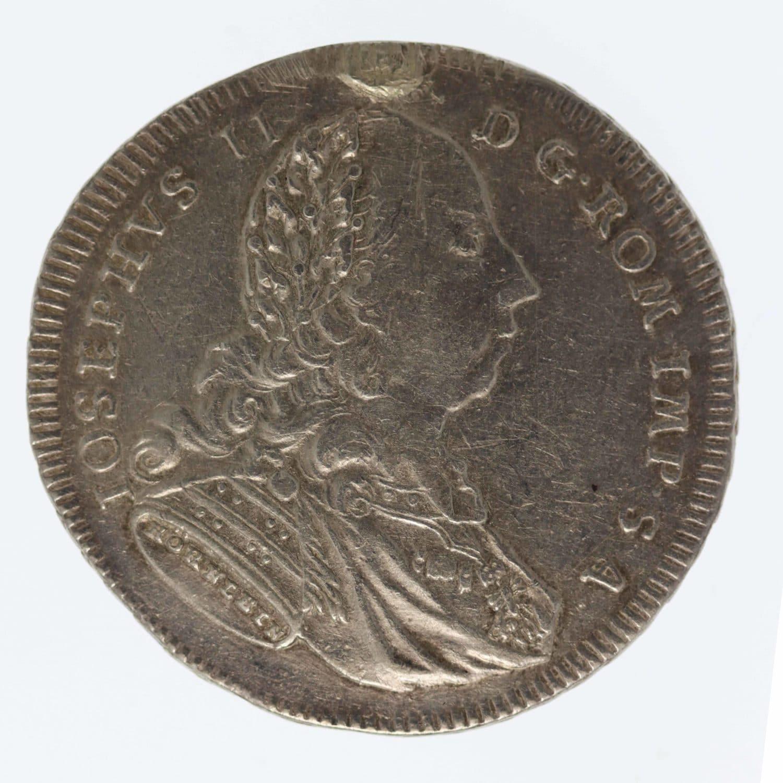 altdeutschland-deutsche-silbermuenzen - Regensburg Stadt 1/2 Taler 1775