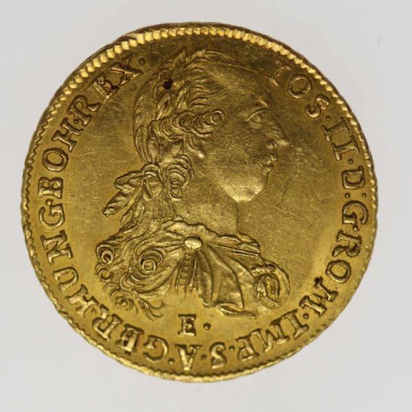 ungarn - Ungarn Josef II. Dukat 1781 E