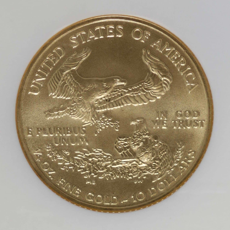 usa - USA 10 Dollars 2002 American Eagle