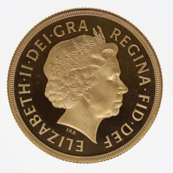 grossbritannien - Großbritannien Elisabeth II. 2 Pounds 2007