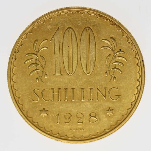 oesterreich - Österreich Republik 100 Schilling 1928