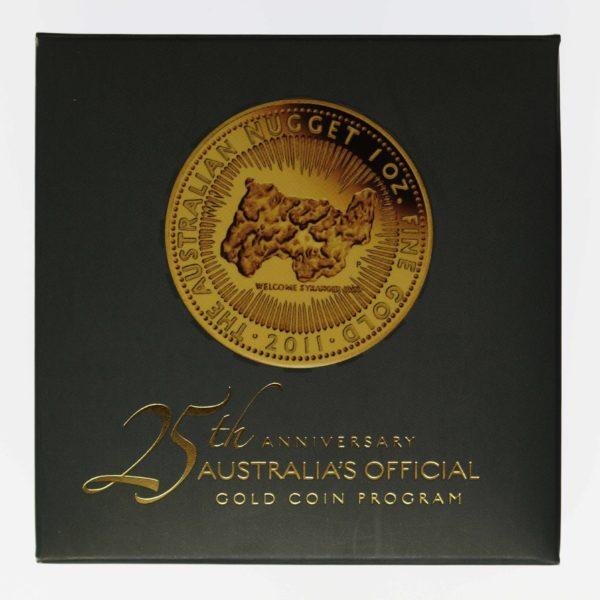 australien - Australien 100 Dollars 2011 Australian Nugget proof