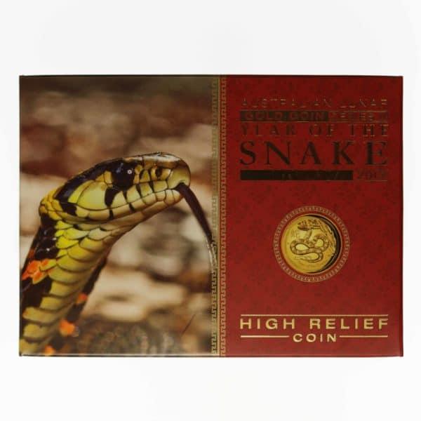 australien - Australien Elisabeth II. 100 Dollars 2013 Lunar II Year of the Snake