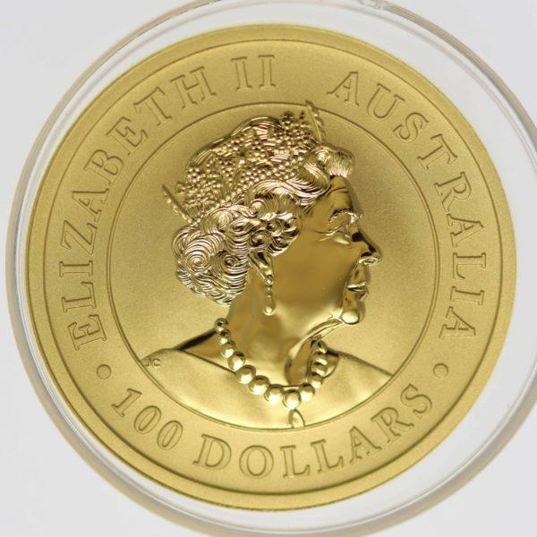 australien - Australien Elisabeth II. 100 Dollars 2019 1 OZ Emu