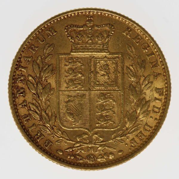 australien - Australien Victoria Sovereign 1874 M