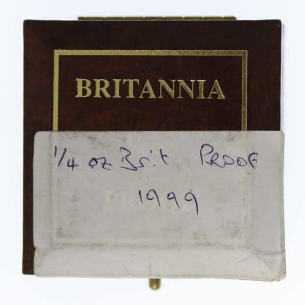 grossbritannien - Großbritannien Elisabeth II. 25 Pounds 1999 Britannia