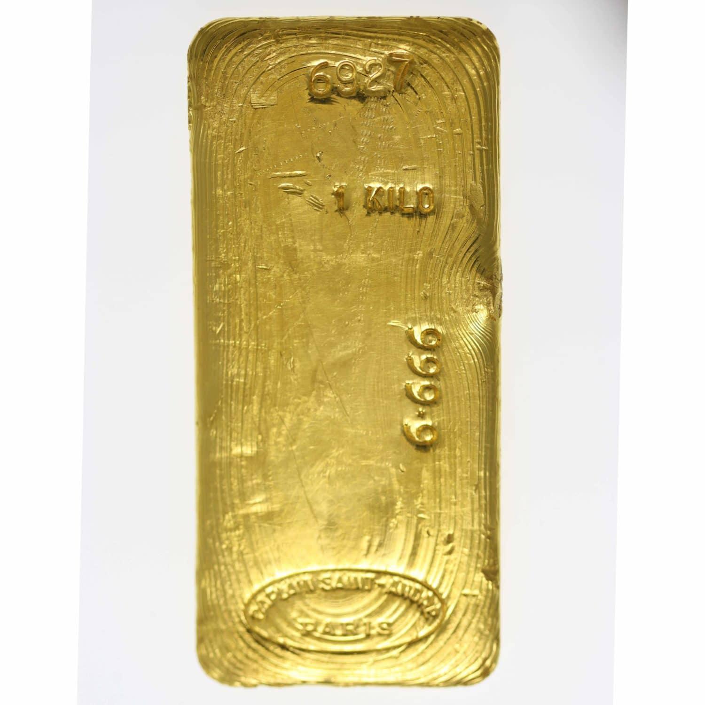 goldbarren - Goldbarren 1000 Gramm Caplain Saint-Andre