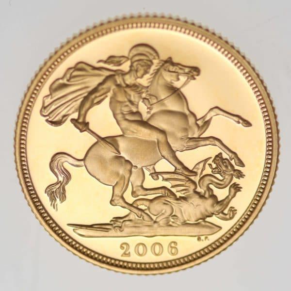 grossbritannien - Großbritannien Elisabeth II. Sovereign 2006