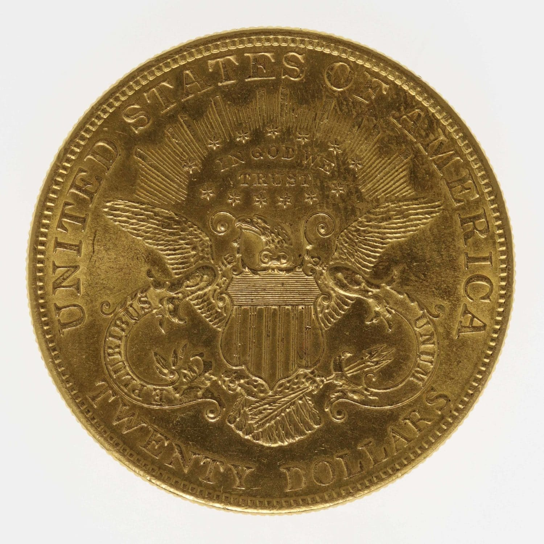 usa - USA 20 Dollars 1904 Liberty / Kopf