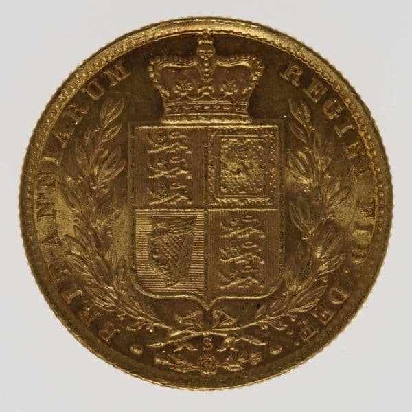 australien - Australien Victoria Sovereign 1877 S