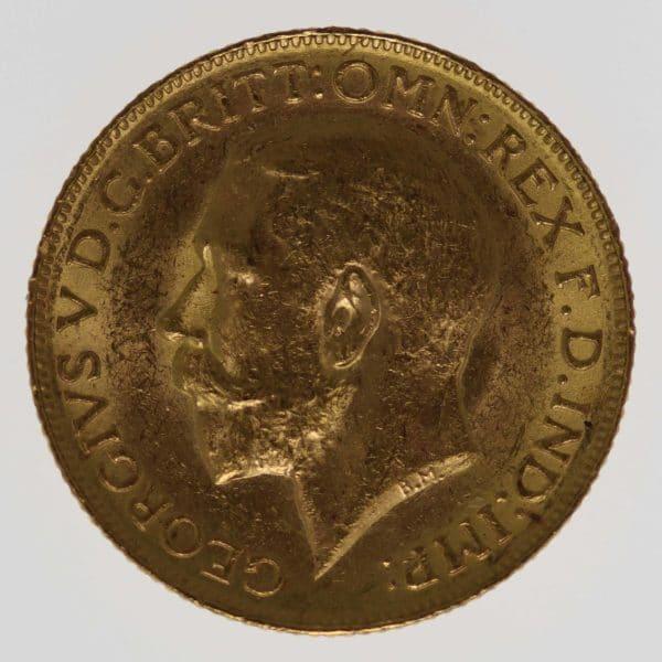 kanada - Kanada Georg V. Sovereign 1918 C