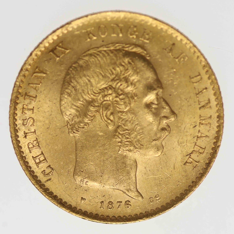 daenemark - Dänemark Christian IX. 20 Kronen1876