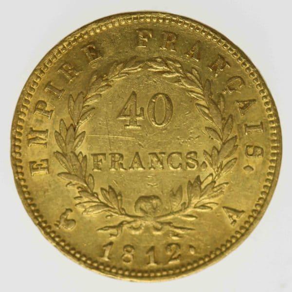 frankreich - Frankreich Napoleon I. 40 Francs 1813 A
