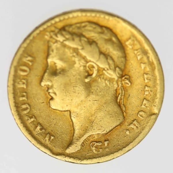 frankreich - Frankreich Napoleon I. 20 Francs 1816 Q