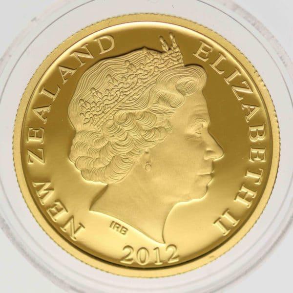 neuseeland - Neuseeland Elisabeth II. 10 Dollars 2012 1/4 OZ Kiwi