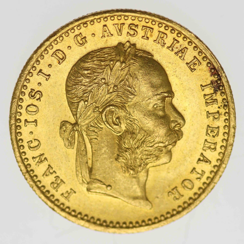 oesterreich - Österreich Kaiserreich Franz Joseph I. Dukat 1914