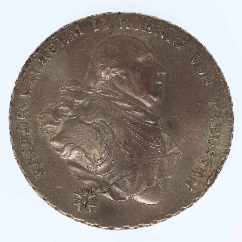 altdeutschland-deutsche-silbermuenzen - Preussen Friedrich Wilhelm II. Taler 1794