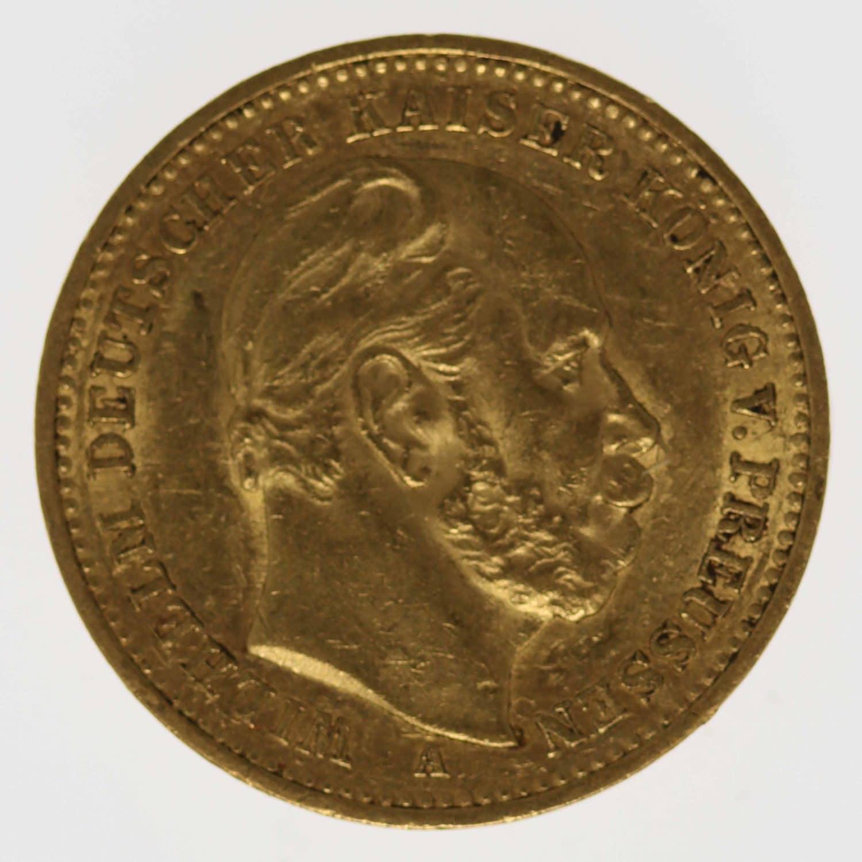 deutsches-kaiserreich-ab-1871 - Preussen Wilhelm I. 20 Mark 1887 A