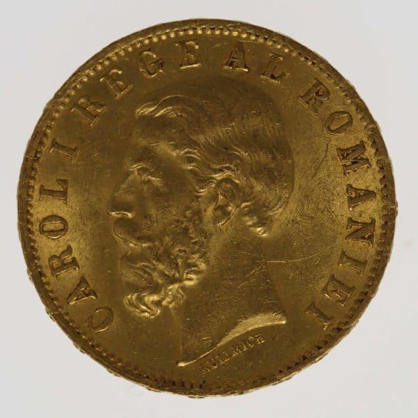 rumaenien - Rumänien Karl I. 20 Lei 1883