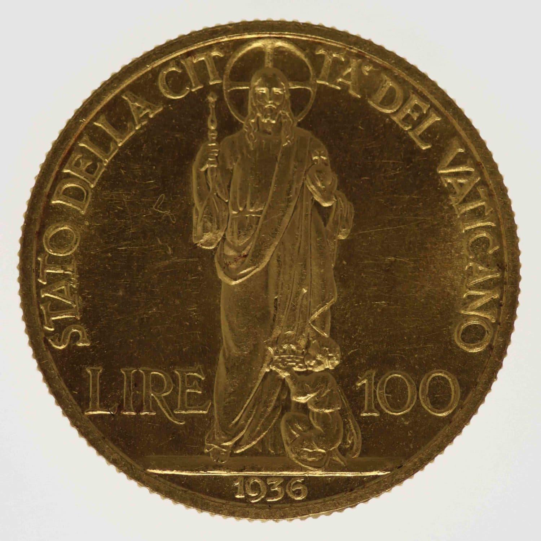 vatikan - Vatikan Pius XI. Münzset 1936