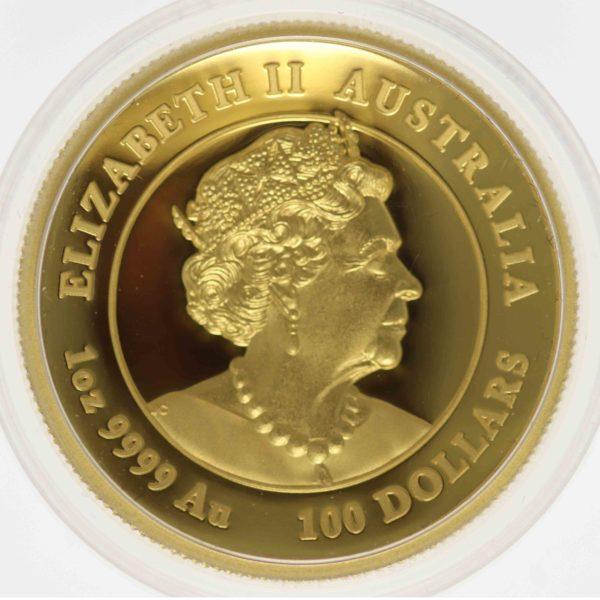 australien - Australien Elisabeth II. 100 Dollars 2020 Lunar III Year of the Mouse